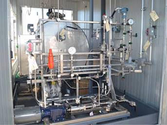 Engineered Process Equipment - Sampling stations and Analyzer conditioning systems Gas blanketing systems Purged hazardous environment enclosures Hazardous and aggressive fluid handling and control systems