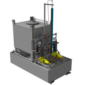 Chemical Injection Skid | Oil and Gas |Chemical Injection Metering Systems