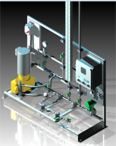 Chemical Injection Skid | Pharmaceutical Industry | Chemical Injection Metering Packages