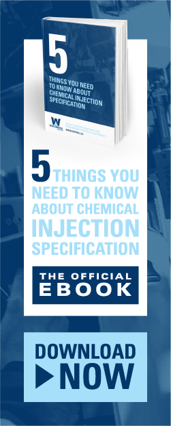 chemical injection specification, chemical mixing